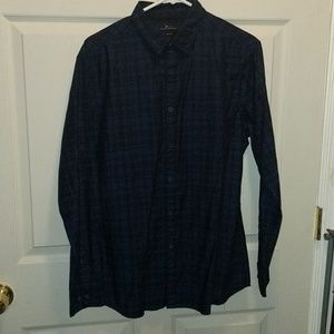 Marc Anthony Checkered Button Down